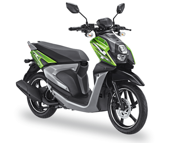 All New X Ride 125 Hijau